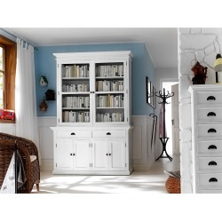 Halifax White Painted Mahogany Large Dresser