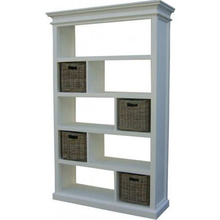 Halifax White Painted Mahogany Room Divider