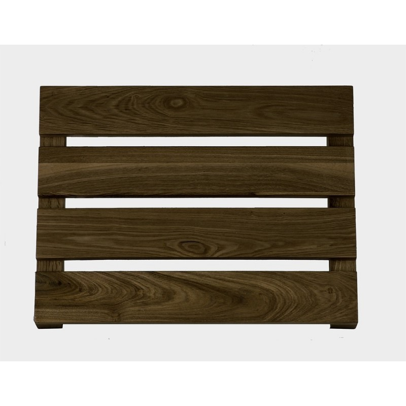 Wireworks Contemporary Dark Oak Bathroom Duckboard