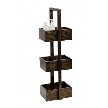 Wireworks Contemporary Dark Oak Mezza Caddy