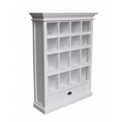 Halifax Painted White Painted Mahogany Medium Entertainment Storage Unit