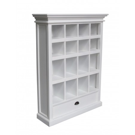 Halifax Painted White Painted Mahogany Medium Entertainment Storage Unit