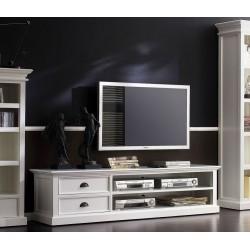 Halifax White Painted Mahogany Large TV Unit