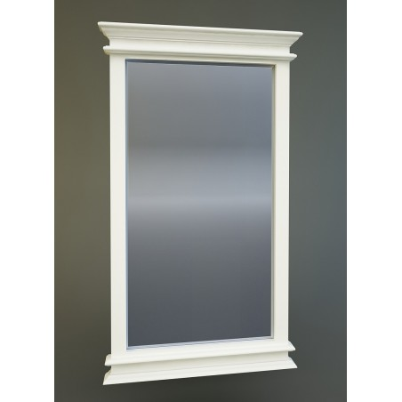Halifax White Painted Mahogany Mirror 120 cm x 70 cm