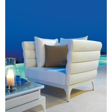 Talenti Pad Luxury Outdoor Italian Armchair