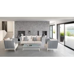 Talenti Stripe Luxury Outdoor Armchair