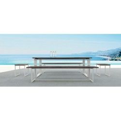 Italian Essence Reclaimed Teak Garden Dining Table and Chairs Set