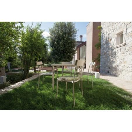 Retro Italian 180 cm Dining Table in White or Dove Grey