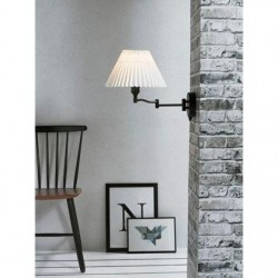 Break Wall Light | Brushed or Black Steel