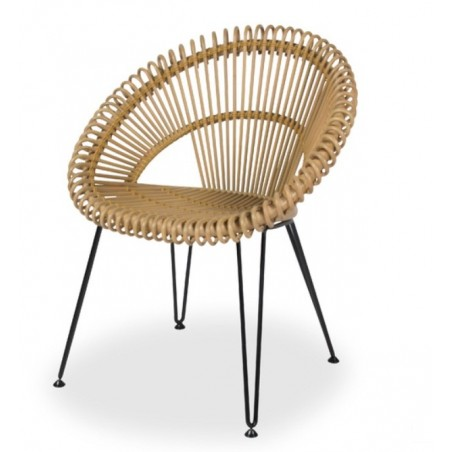 Vincent Sheppard Curly Rattan Dining Chair