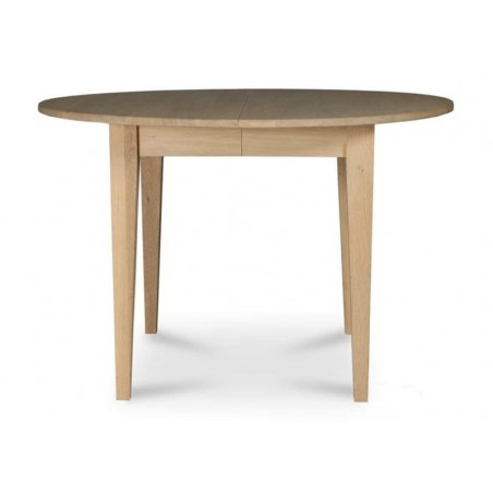 Vincent Sheppard LILLE Oval Extending Oak Dining Table 120 - 220cm