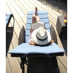 Vincent Sheppard Safi Rattan Outdoor Sun Lounger