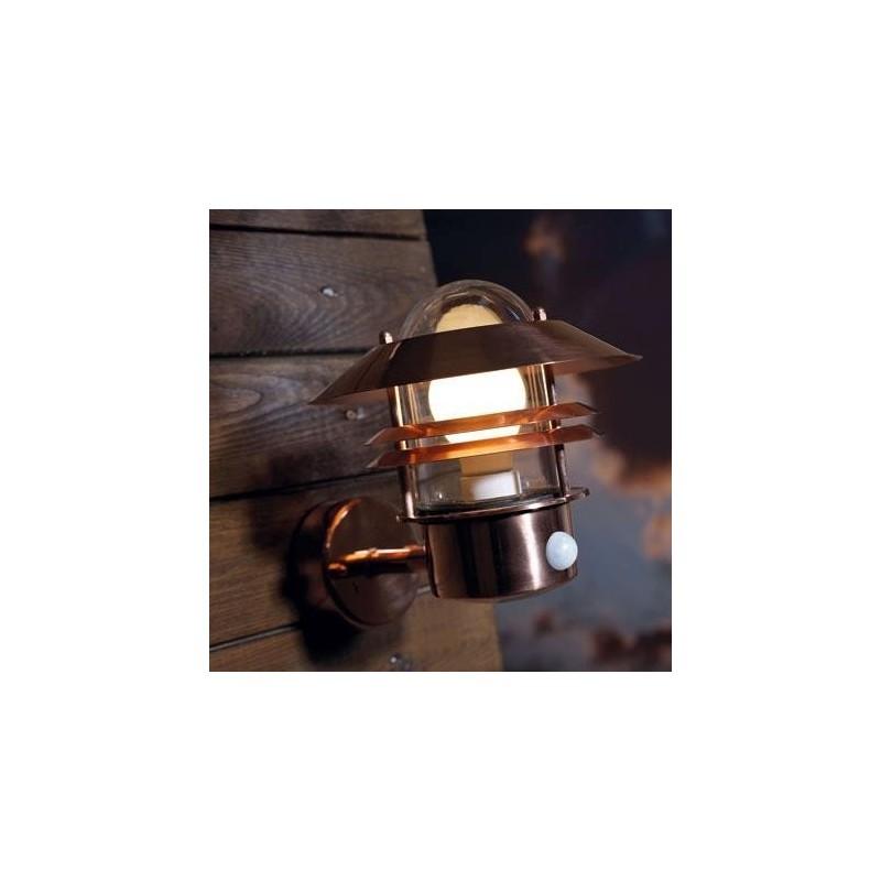 Blokhus Copper Outdoor Light With Sensor