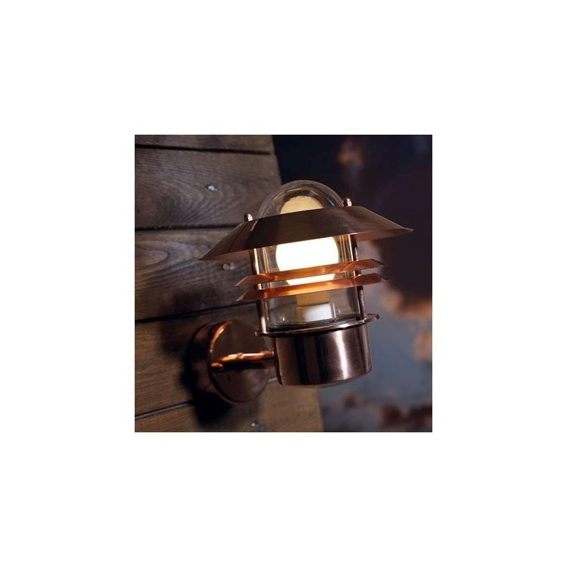 Blokhus Copper Outdoor Light - No Sensor