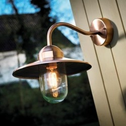 Classic Design Copper Outdoor Wall Light