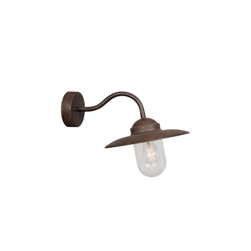 Classic Design Rusty Outdoor Wall Light
