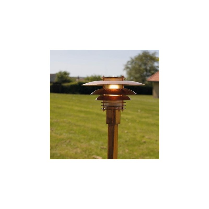 Phoenix Mini Outdoor Copper Stand Light