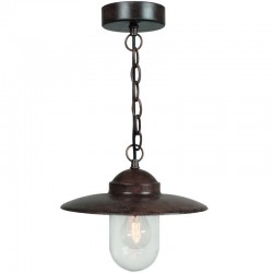 Luxembourg Rusty Outdoor Pendant Light