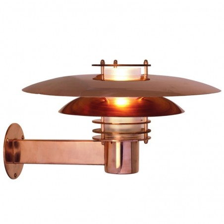 Phoenix Outdoor Copper Wall Light