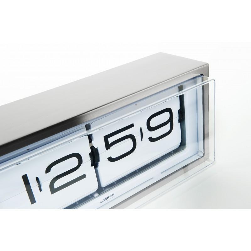 Leff Amsterdam Brick Clock 24h - White