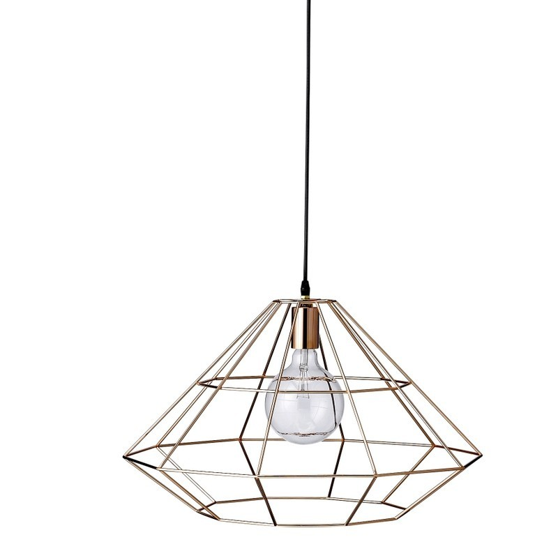 Bloomingville Pernille Pendant Lamp in Copper