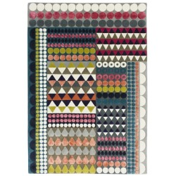 Hand-Tufted Festival Rug by Margo Selby 170cm x 240cm