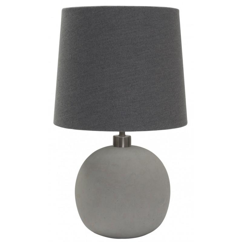 Concrete Sphere Table Lamp