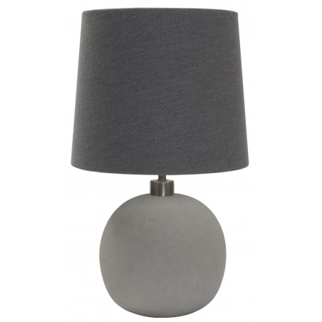 Concrete Sphere Table Lamp