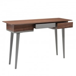 Mid-Century Walnut Table | Console Dressing or Desk
