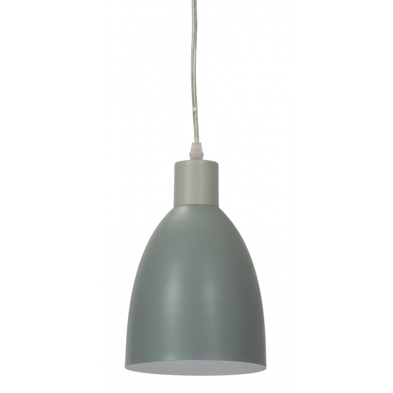 Mini Contrast Hanging Lamp | Blue Grey Stone or White