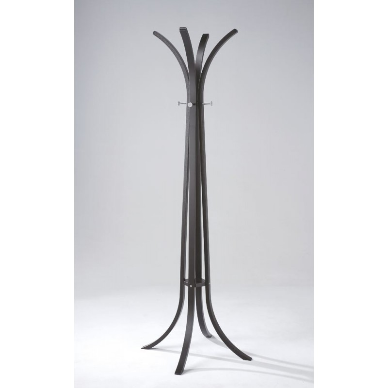 Sheaves Wood Hat and Coat Stand | Black or White