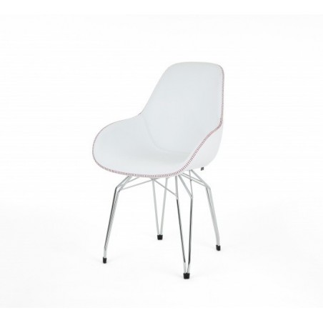 Diamond Dimple Tailored Chair by Kubikoff | Fabric