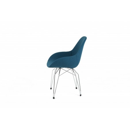 Diamond Dimple Pop Chair by Kubikoff   Fabric