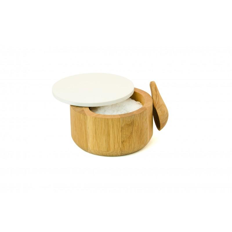 Wireworks Salt Pot & Spoon