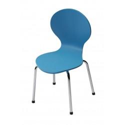 Kids Danish Chairs by Dan-Form - Blue