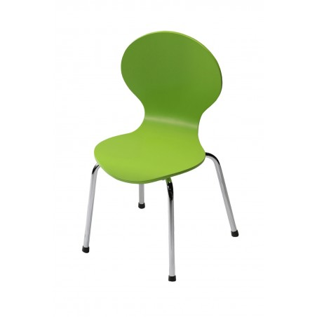 Kids Danish Green Chair by Danform