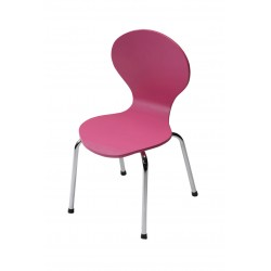 Kids Danish Pink Chair by Dan-Form