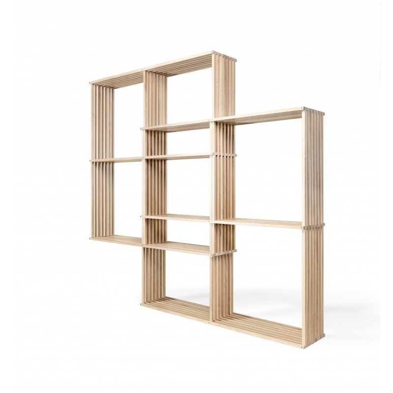 Wewood X2 Solid Oak Bookcase