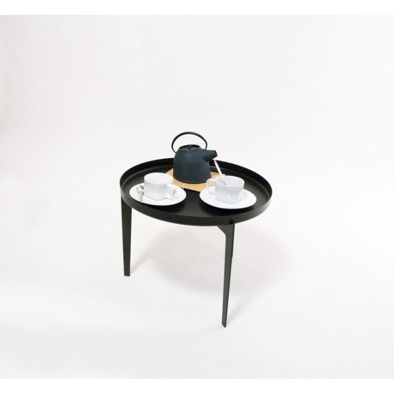 Covo Large Black Metal Illusion Coffee Table