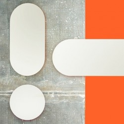 Covo Fluorescent Moonlight Mirror 90cm - Orange