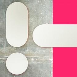 Covo Fluorescent Moonlight Mirror 90cm - Pink
