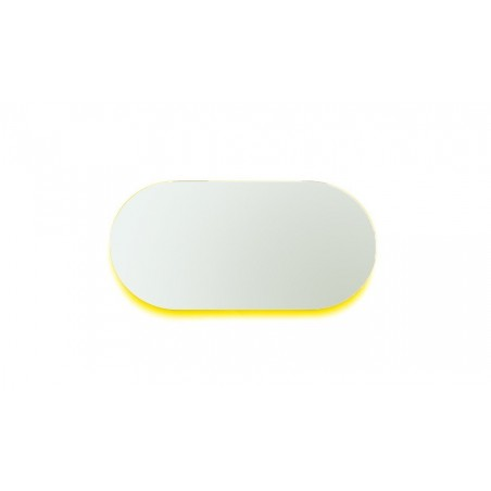 Covo Fluorescent Moonlight Mirror 90cm - Yellow