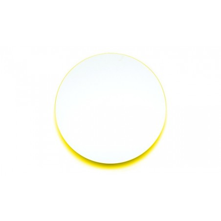 Covo Fluorescent Moonlight Mirror Ø 45 - Yellow