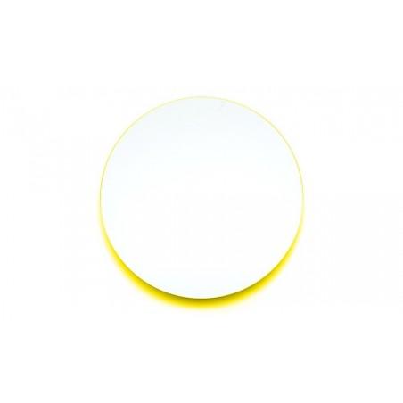 Covo Fluorescent Moonlight Mirror Ø 45 - Yellow