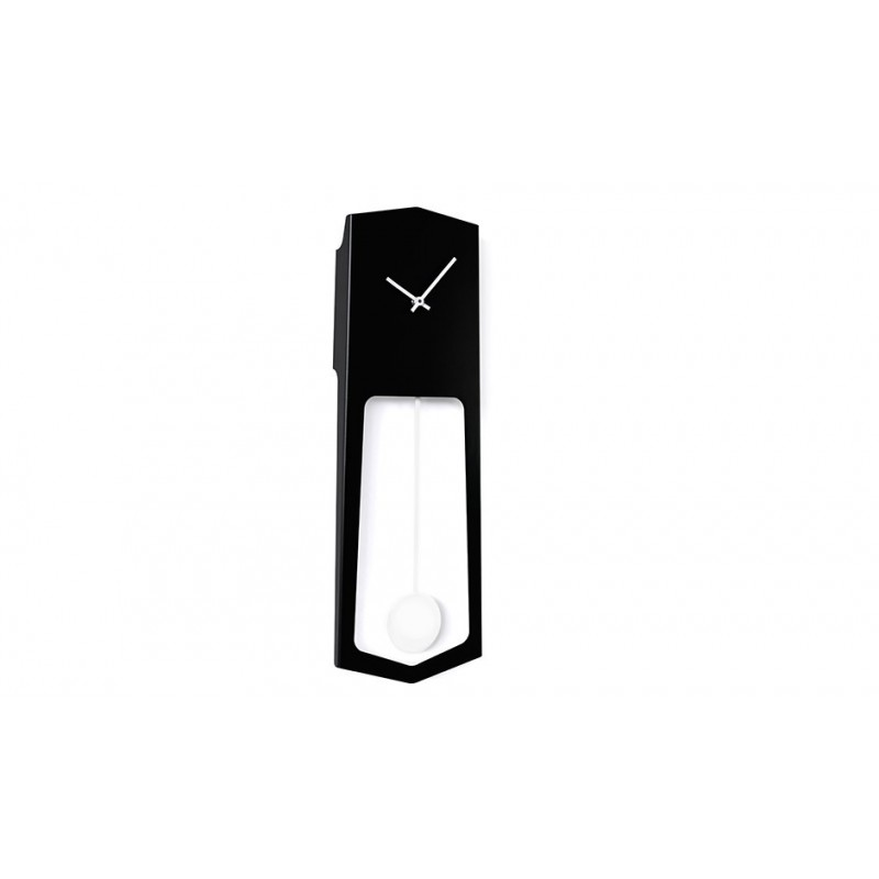 Covo Aika Italian Wall Clock - Black