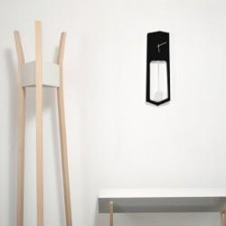 Covo Aika Italian Wall Clock - Black