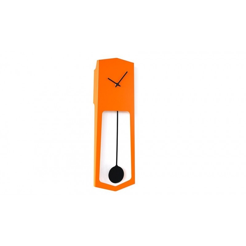Covo Aika Italian Wall Clock - Orange