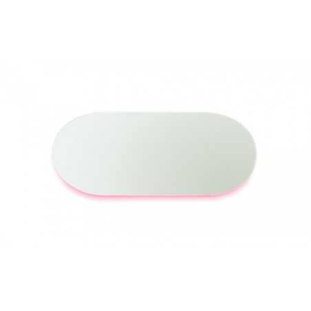 Covo Fluorescent Moonlight Mirror - Pink