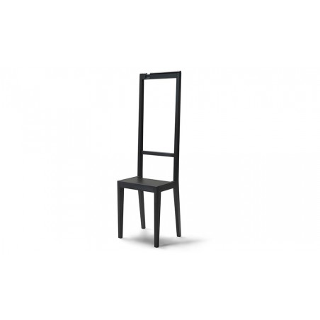Covo Italian Beech Wood Alfred Chair - Black