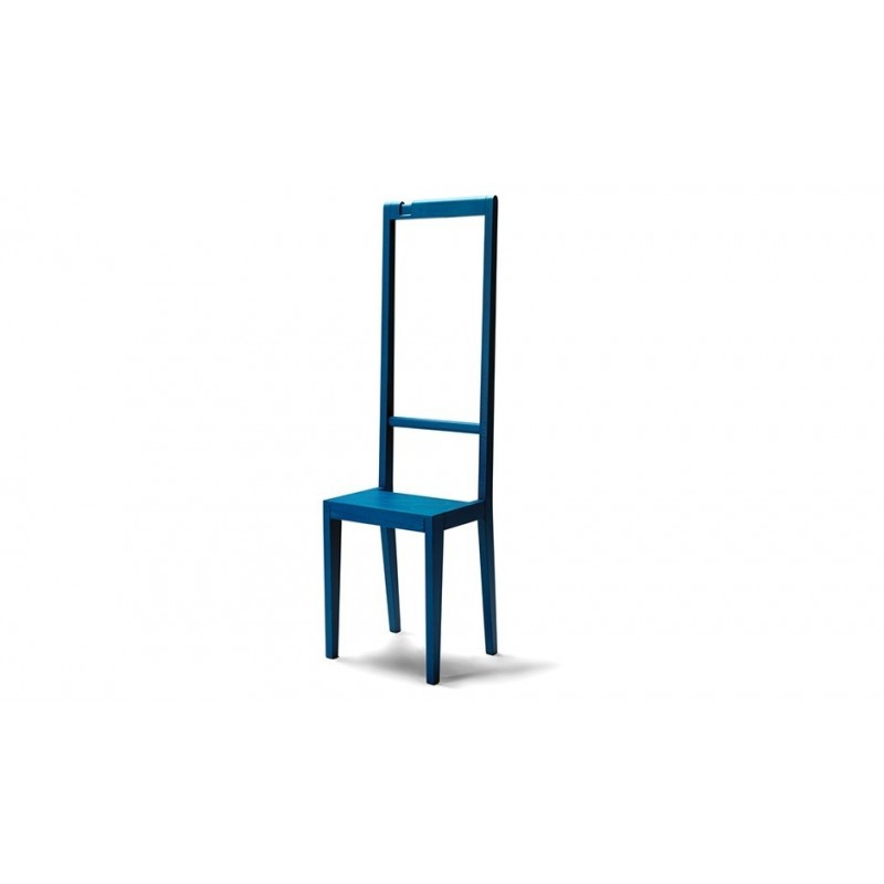 Covo Contemporary Beech Wood Alfred Chair - Blue
